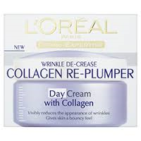 L'Oreal Wrinkle De-Crease Collagen Re-Plumper Day Cream I Cosmetic Revolution